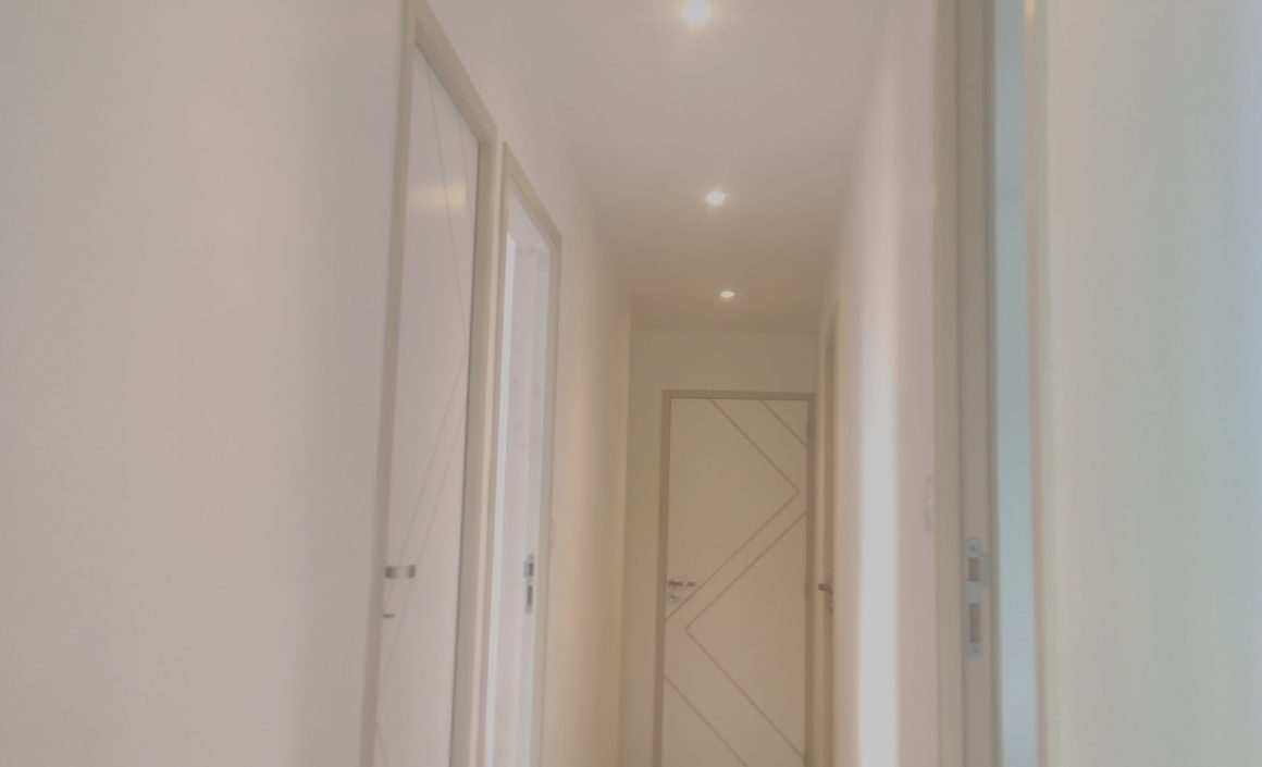 Remplacement des blocs portes existants, Pose de spots