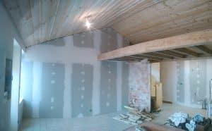 Isolation Acoustique dans une maison de tisserand à Cholet (2)
